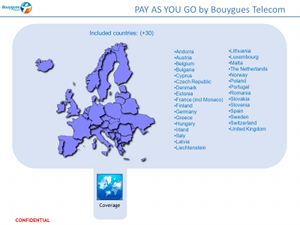 Presentation slide : Bouygues : Before