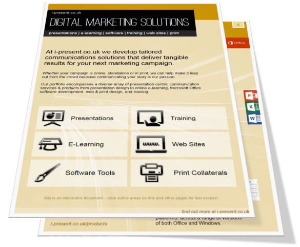 Digital Marketing Solutions Brochure