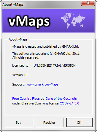 vMaps for PowerPoint - About