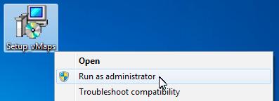 vMaps for PowerPoint - Setup Run As Admin