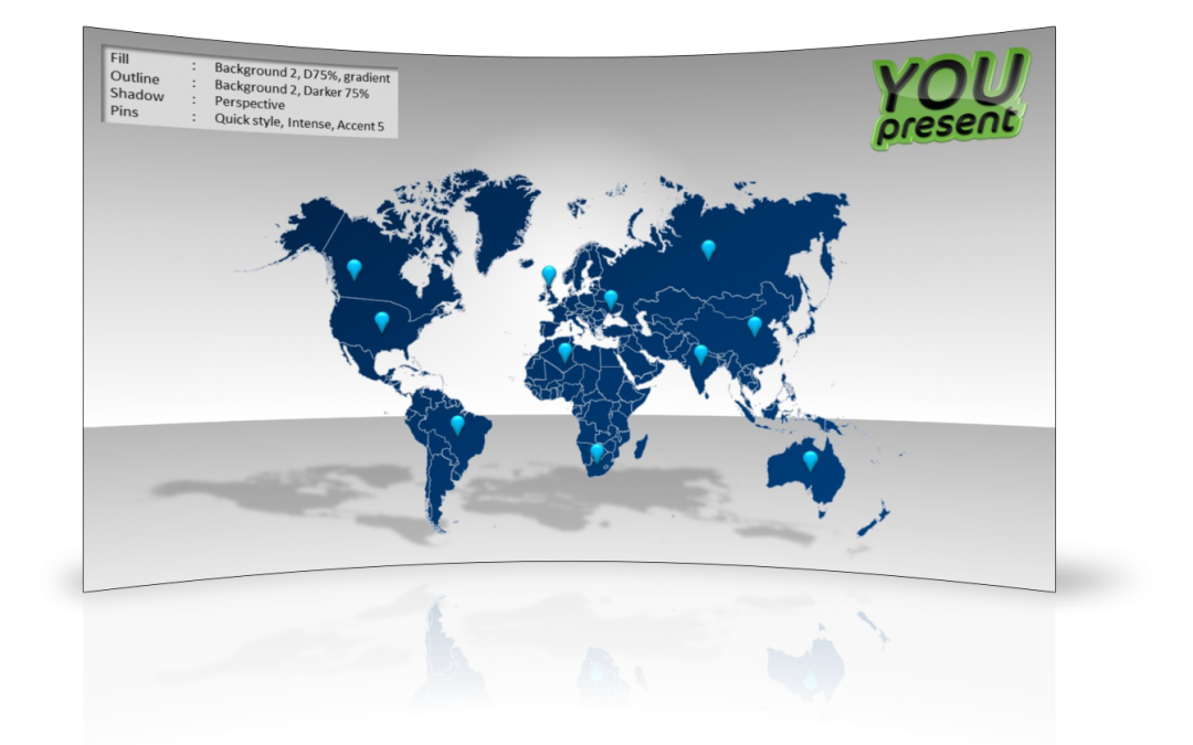 powerpoint 2013 template location - world map template for powerpoint youpresent