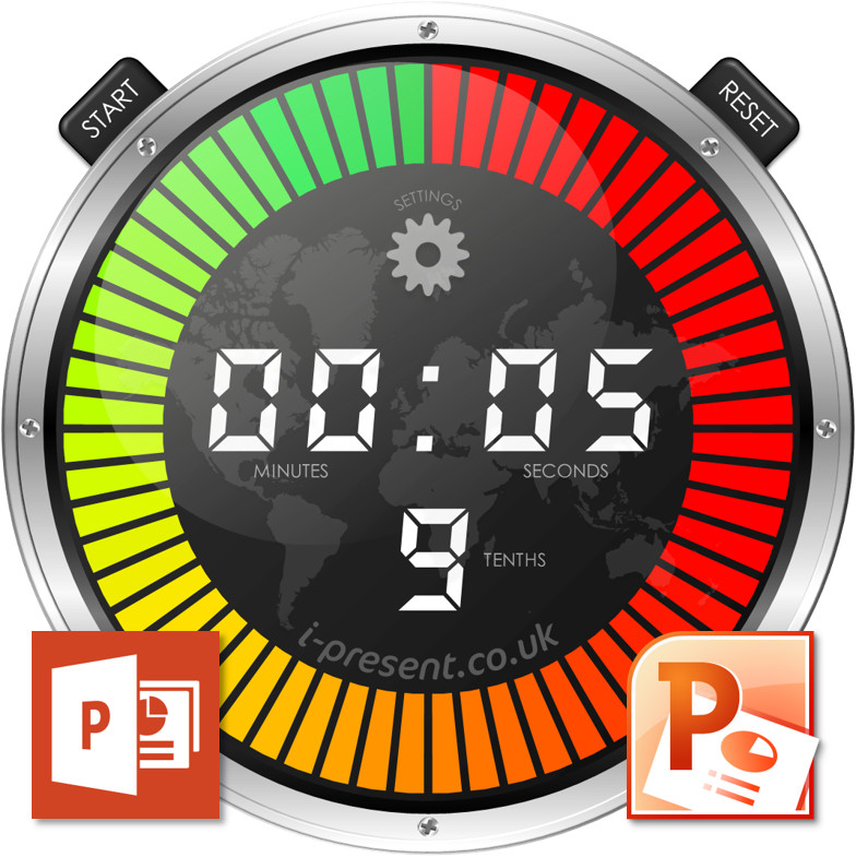 PowerPoint Stopwatch