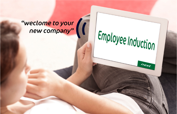 youpresent.co.uk - employee induction tablet