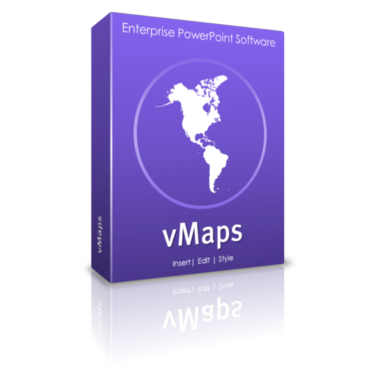vMaps - editable maps and heat maps for PowerPoint