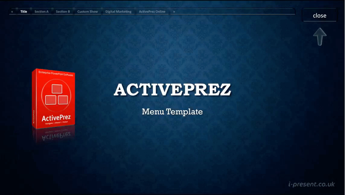 ActivePrez Template : Glassy