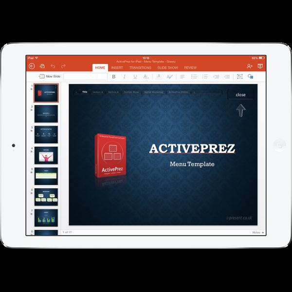 iPad + PowerPoint + ActivePrez