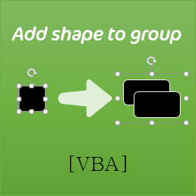 Free PowerPoint VBA to add shape to animated group or object