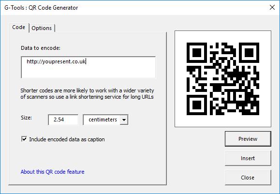 G-Tools - QR Code