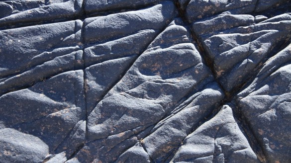 PowerPoint photography - rock texture 16x9