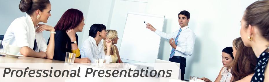 Presentation Training - Professional Presentations