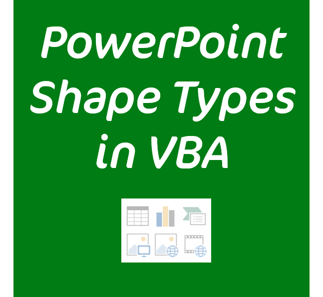 Discover Shape Types for PowerPoint Selection
