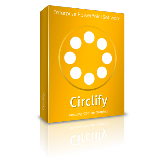 Create circular graphics in PowerPoint : Circlify