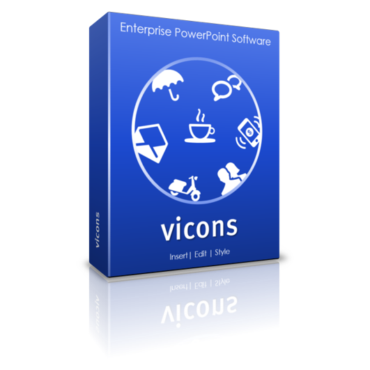 editable vecotr icons for PowerPoint : vicons
