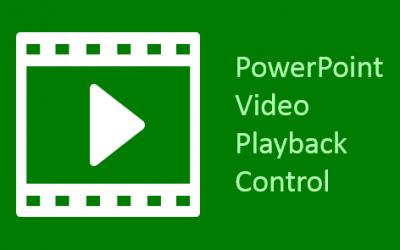 Restoring Video Playback in PowerPoint