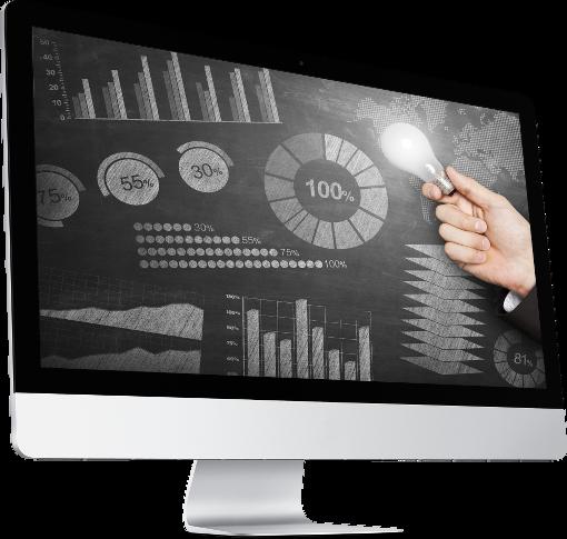 PowerPoint presentation on iMac