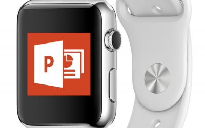 Apple Watch remote control for PowerPoint