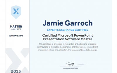 Microsoft PowerPoint Master Certificate