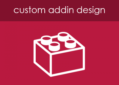 Custom Addin Design