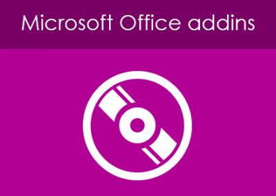 Microsoft Office Addins
