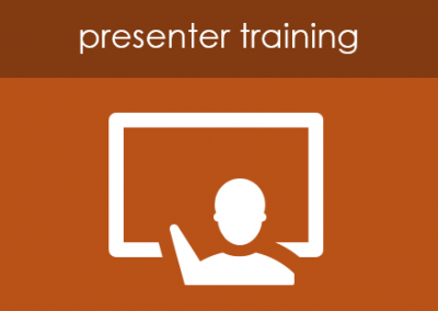 How do I present a powerpoint?