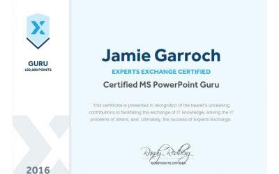 Certified Microsoft PowerPoint Guru