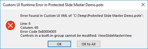 CustomUI group edit error