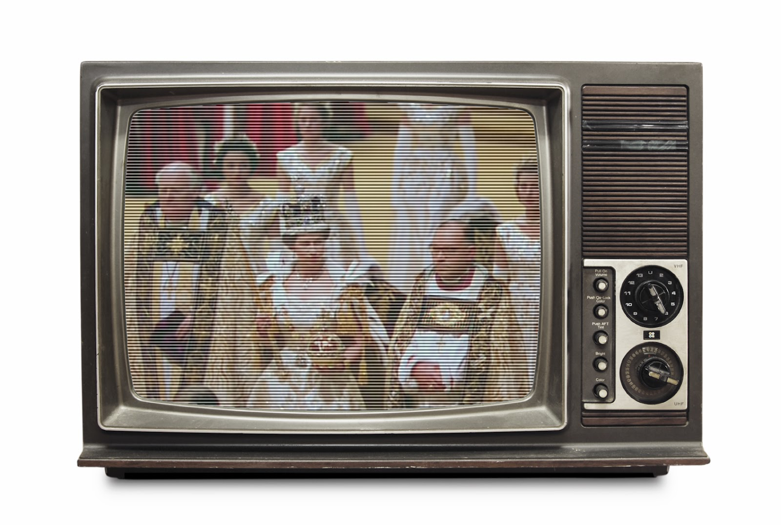 Group of TV + Queen + Pattern Fill