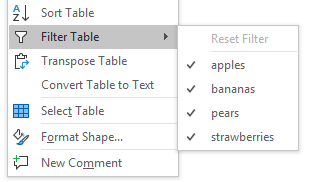 YOUtools Table Filter