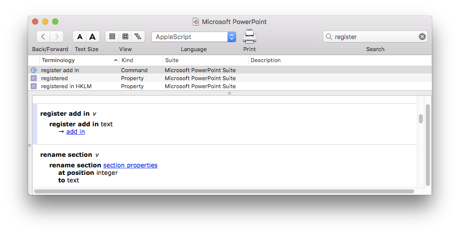 Developing Installers for Office:Mac 2016 application add